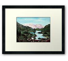 Yosemite Meadow Framed Print