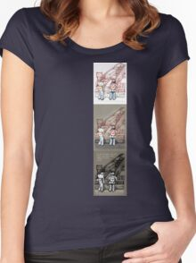 Rush Hour Parking, Too Women's Fitted Scoop T-Shirt