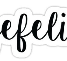#Byefelicia Sticker