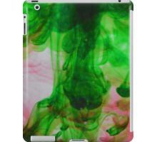 Green and red ink iPad Case/Skin