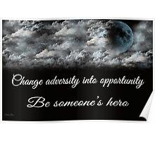 Change Adversity Poster