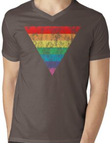 rainbow triangle Mens V-Neck T-Shirt
