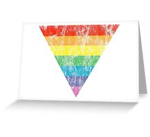 rainbow triangle Greeting Card