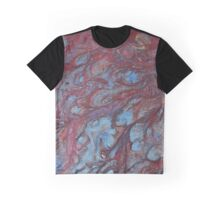 Blue and red paint photography Graphic T-Shirt