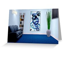 Interior Design Idea - Immiscible Greeting Card