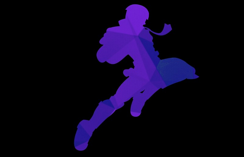 Captain falcon knee of justice gif