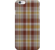 02480 Monroe County, New York Fashion Tartan  iPhone Case/Skin