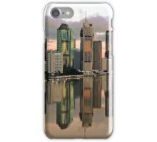 Brisbane City Before Sunrise. Queensland, Australia. iPhone Case/Skin