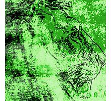 Green Lion Art Photographic Print