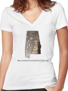 Alabama Urbex  Women's Fitted V-Neck T-Shirt