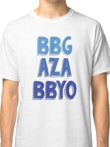BBG AZA BBYO: Blue Classic T-Shirt