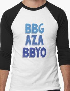 BBG AZA BBYO: Blue Men's Baseball ¾ T-Shirt