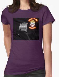 Coney Island Arcade Womens Fitted T-Shirt