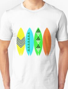 Colorful Surfboards Unisex T-Shirt