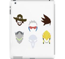 overwatch offense icons iPad Case/Skin