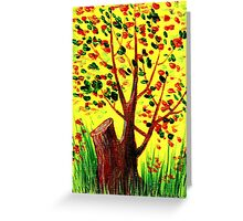 Bright Fall Greeting Card