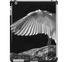 Preening Great Egret  iPad Case/Skin