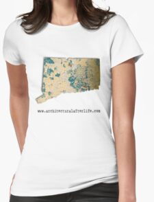 Connecticut Urbex Womens Fitted T-Shirt