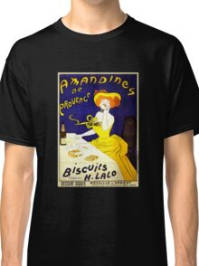 'Amandines de Provence' by  Leonetto Cappiello (Reproduction) Classic T-Shirt