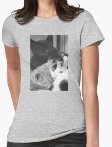 Pile of Kittens (Clothing Products) Womens Fitted T-Shirt