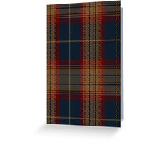 02472 Drumbeg Fashion Tartan  Greeting Card