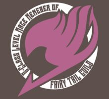 Fairy Tail Guild Member (Pink) by PixelStampede