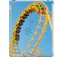 Life's a Roller Coaster Ride iPad Case/Skin