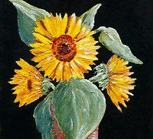 Sunflower by Anastasiya Malakhova