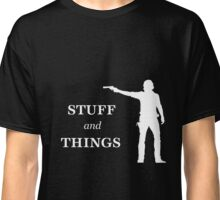 Rick Grimes - Stuff and Things Classic T-Shirt