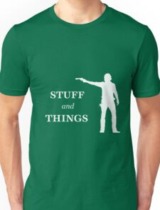 Rick Grimes - Stuff and Things Unisex T-Shirt