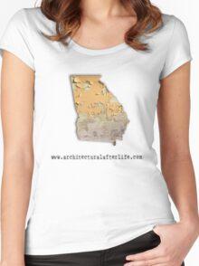 Georgia Urbex Women's Fitted Scoop T-Shirt