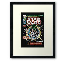 STAR WARS COMIC Framed Print