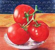 Tomatoes by Anastasiya Malakhova
