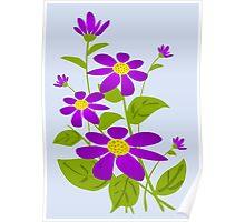 Bright Purple Poster