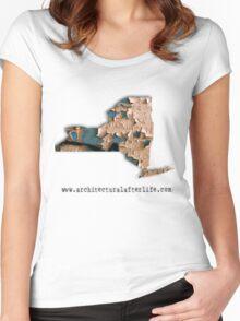 New York Urbex Women's Fitted Scoop T-Shirt