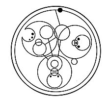"""Come along, Pond"" Translated into Gallifreyan Photographic Print"