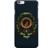 Sgt James Bucky Barnes (green) iPhone Case/Skin