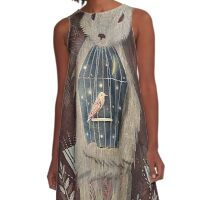 chaising rabbit A-Line Dress