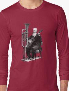 Vintage Music - Guitar & Tuba Long Sleeve T-Shirt