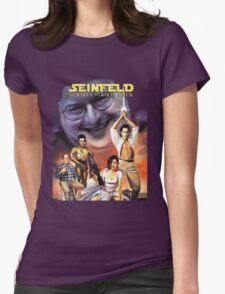 Newman Strikes Back Fan Art Womens Fitted T-Shirt