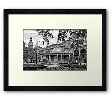 The Henry B. Plant Museum BW  Framed Print