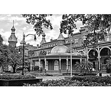 The Henry B. Plant Museum BW  Photographic Print