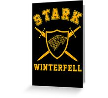 House Stark - Coat of Arms Greeting Card