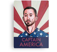 """Clint Dempsey: Captain America"" Metal Print"