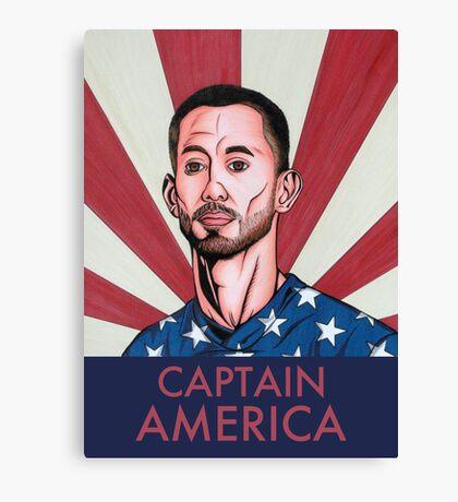 """Clint Dempsey: Captain America"" Canvas Print"