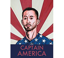"""Clint Dempsey: Captain America"" Photographic Print"