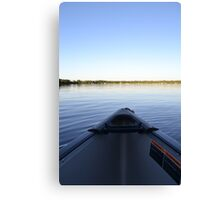 Sit Back & Paddle Canvas Print