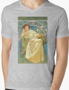 Princezna Nouveau Mens V-Neck T-Shirt