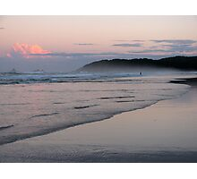 evening beach 2 Photographic Print