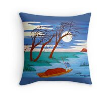 Going Home Pillow and Tote Throw Pillow